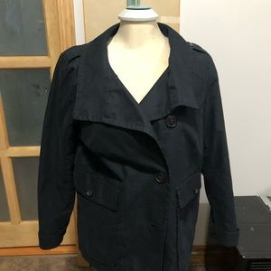 Gap black coat